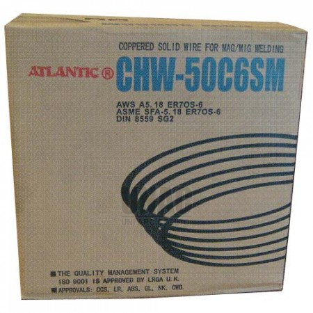 ATLANTIC CHW-50C6 Solid wire for MAG/MIG welding