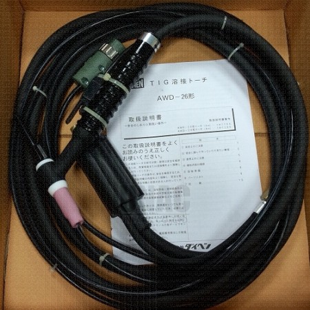 AWD Series TIG Handheld welding torch for D-series machine