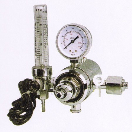 YQT-731L3 CO2 Regulator with Heater 220V 150W